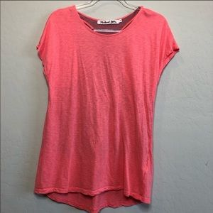 Michael Stars Coral Athletic Racerback Shirt
